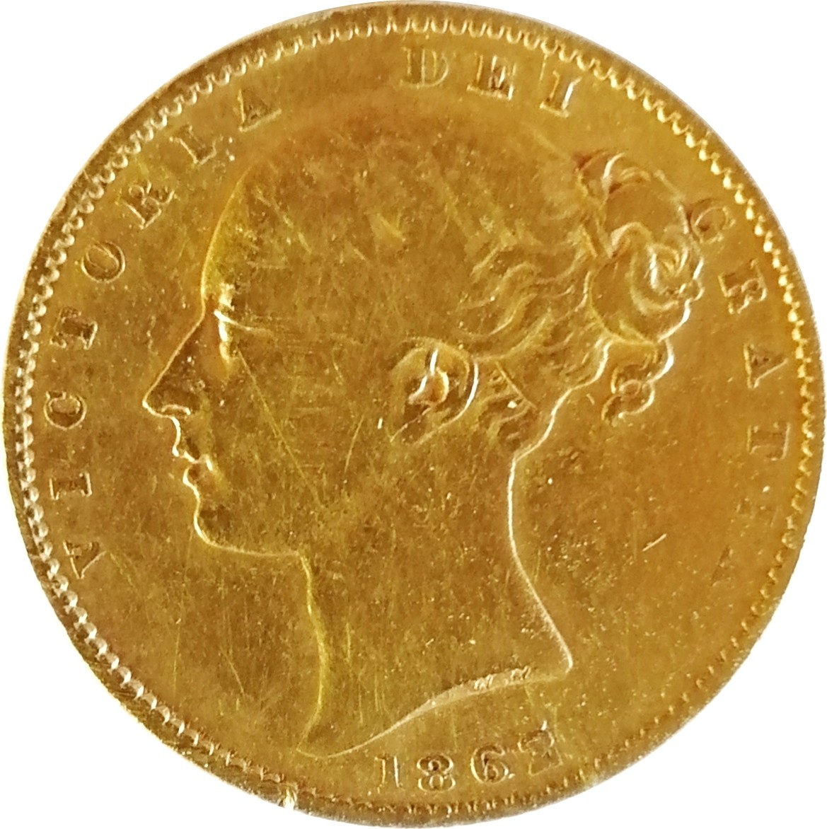 British 1 Sovereign (1838-1874 Victoria)