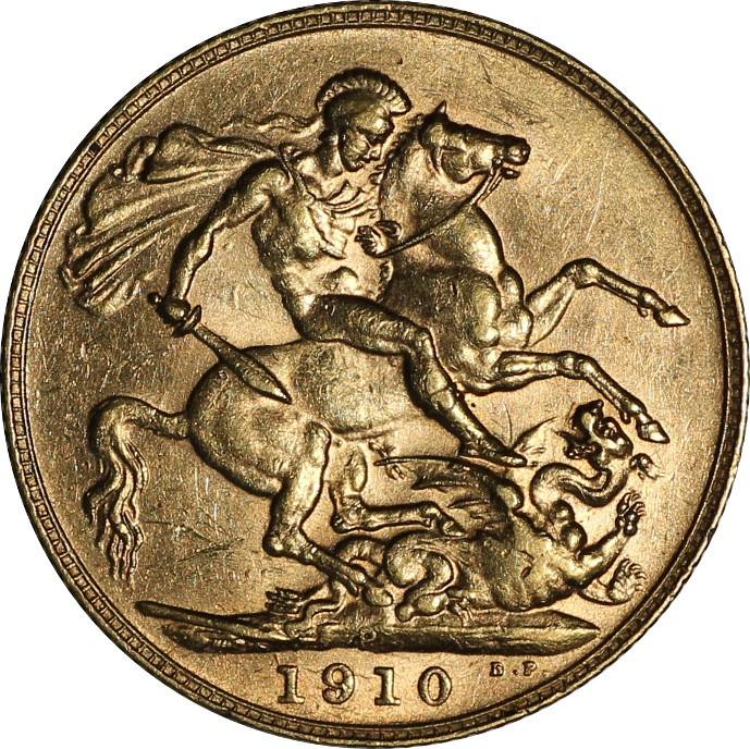 British 1 Sovereign (1902-1910 Edward VII)