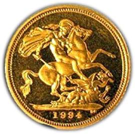 British ½ Sovereign (1985-1997 Elizabeth II)