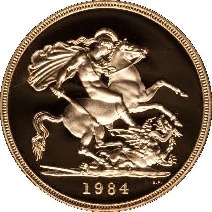 British 5 Pounds (1980-1984 Elizabeth II)