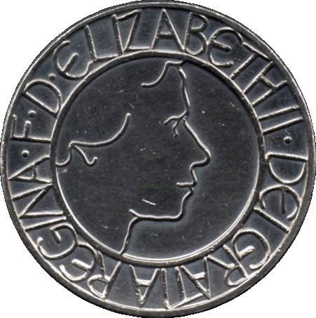 British 5 Pounds (2003 Elizabeth II-Coronation Jubilee)