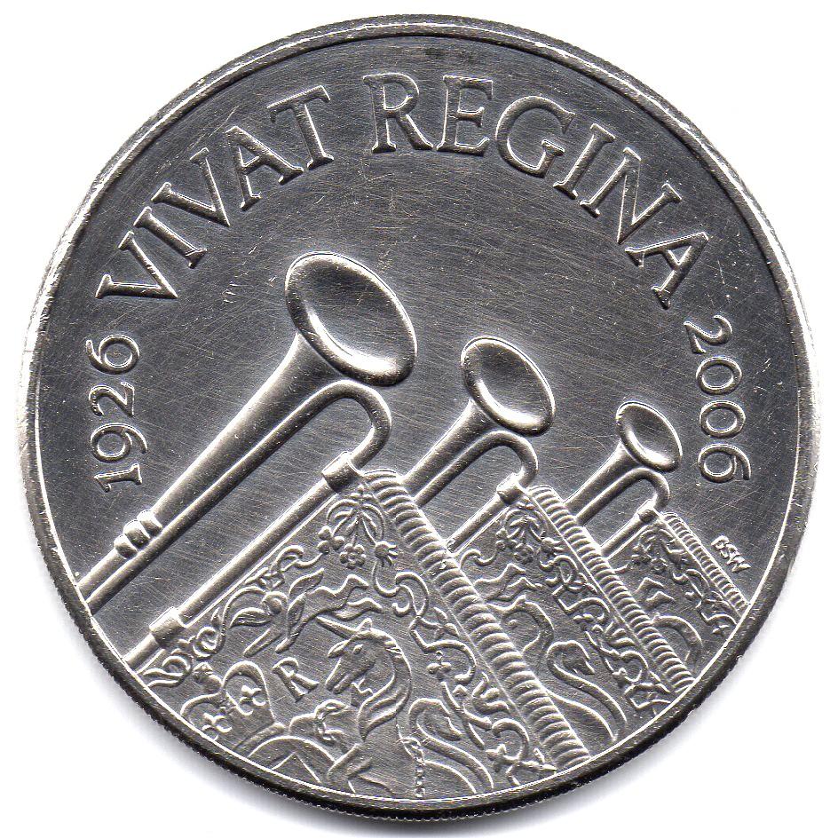 British 5 Pounds (2006 Elizabeth II-Queen's Birthday)