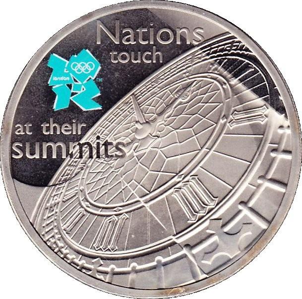 British 5 Pounds (2009 Elizabeth II-Big Ben)