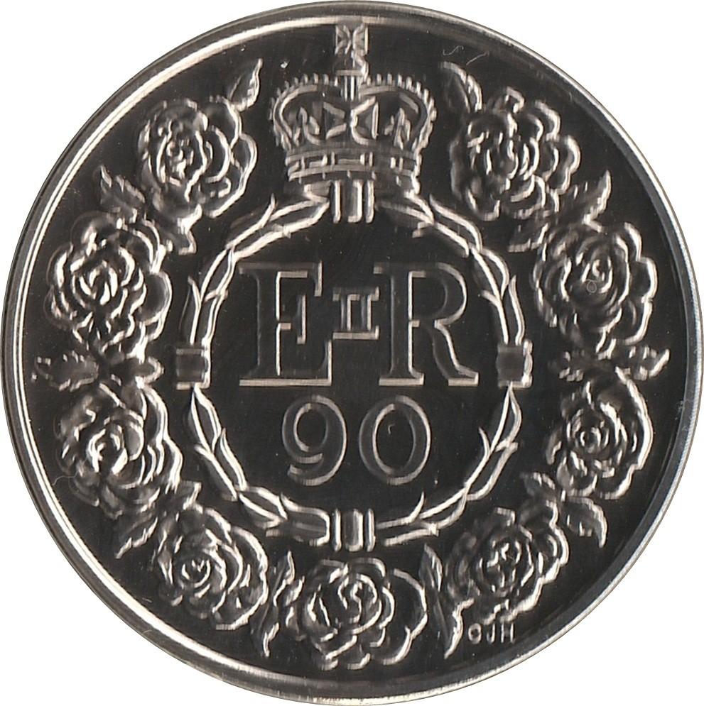 British 5 Pounds (2016 Elizabeth II-Queen's Birthday)
