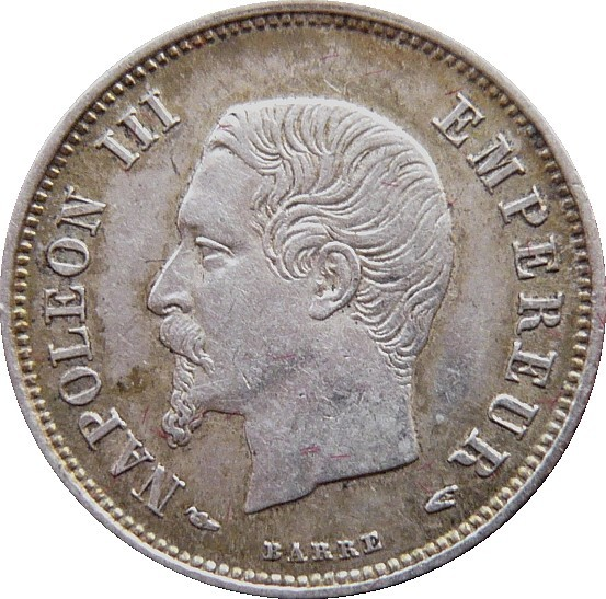 France 20 Centimes (1853-1863 Napoleon III)