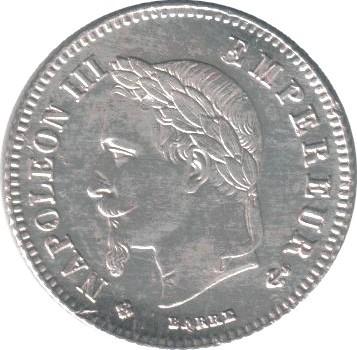 France 20 Centimes (1864-1866 Napoleon III)