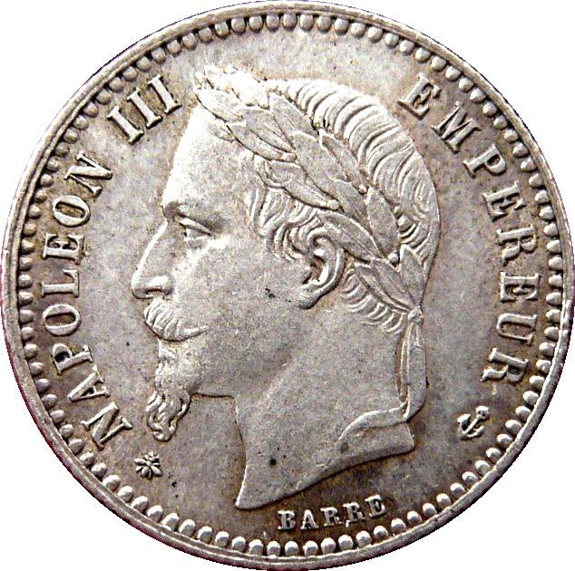 France 50 Centimes (1864-1869 Napoleon III)
