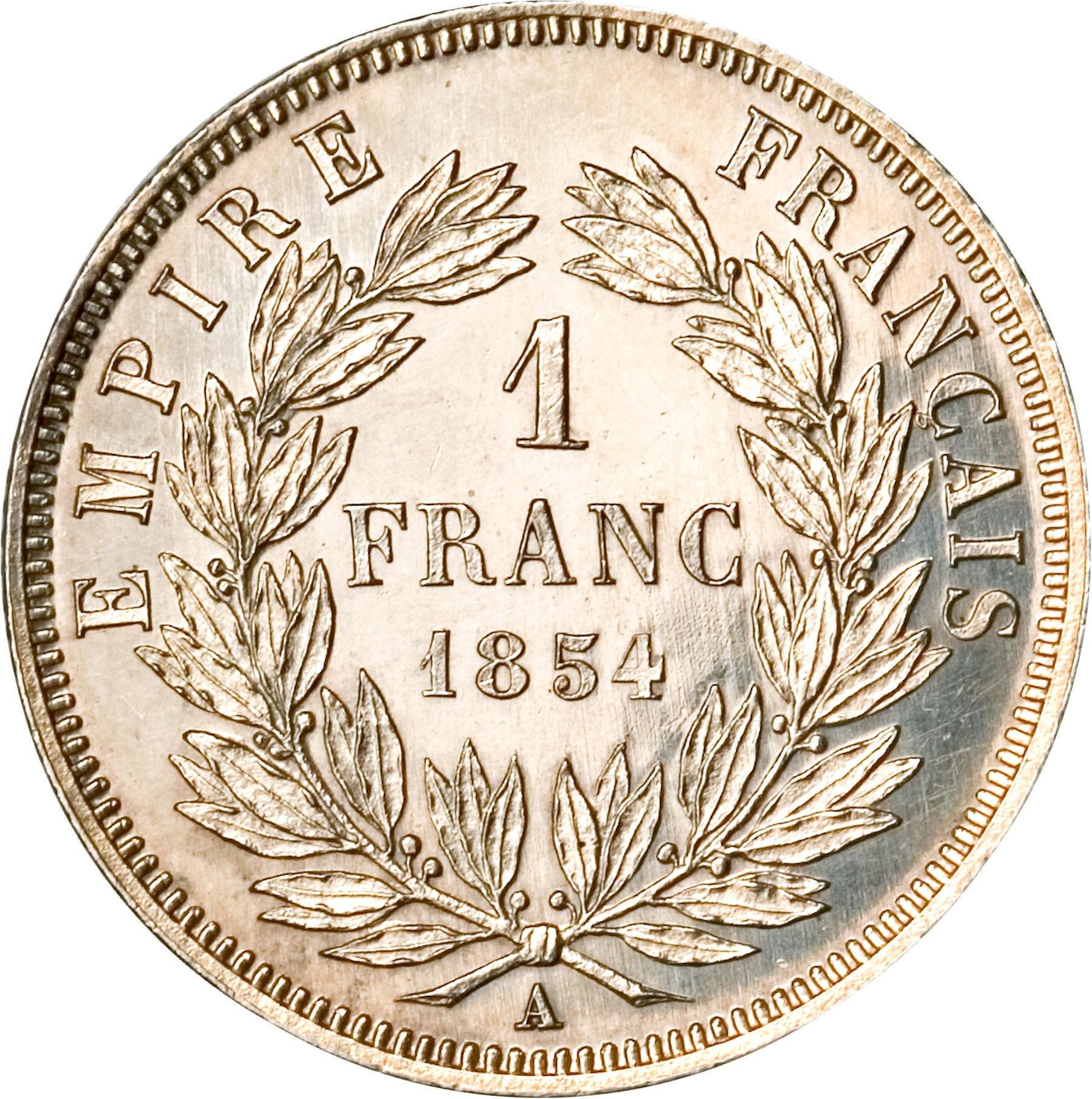France 1 Franc (1853-1863 Napoleon III)