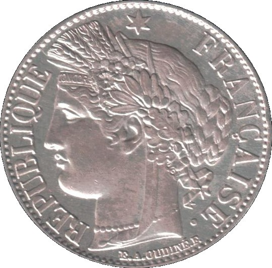 France 1 Franc (1871-1895)