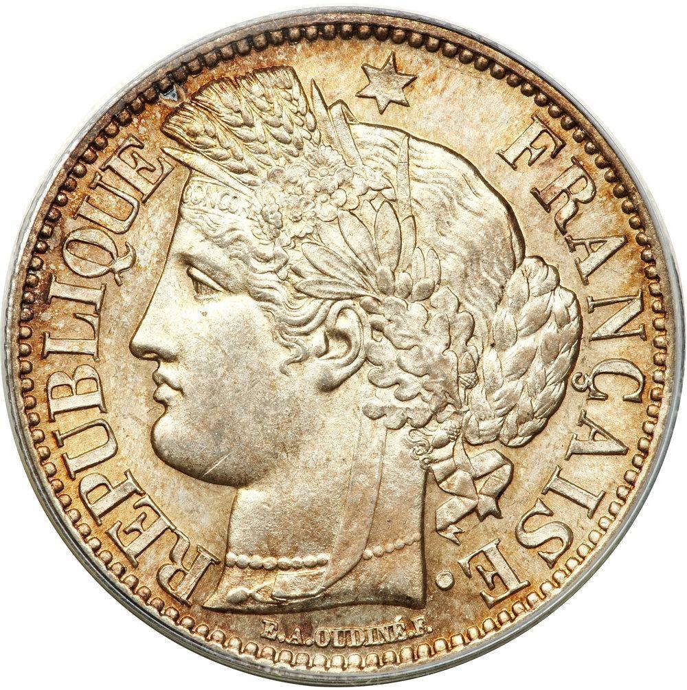 France 2 Francs (1849-1851)