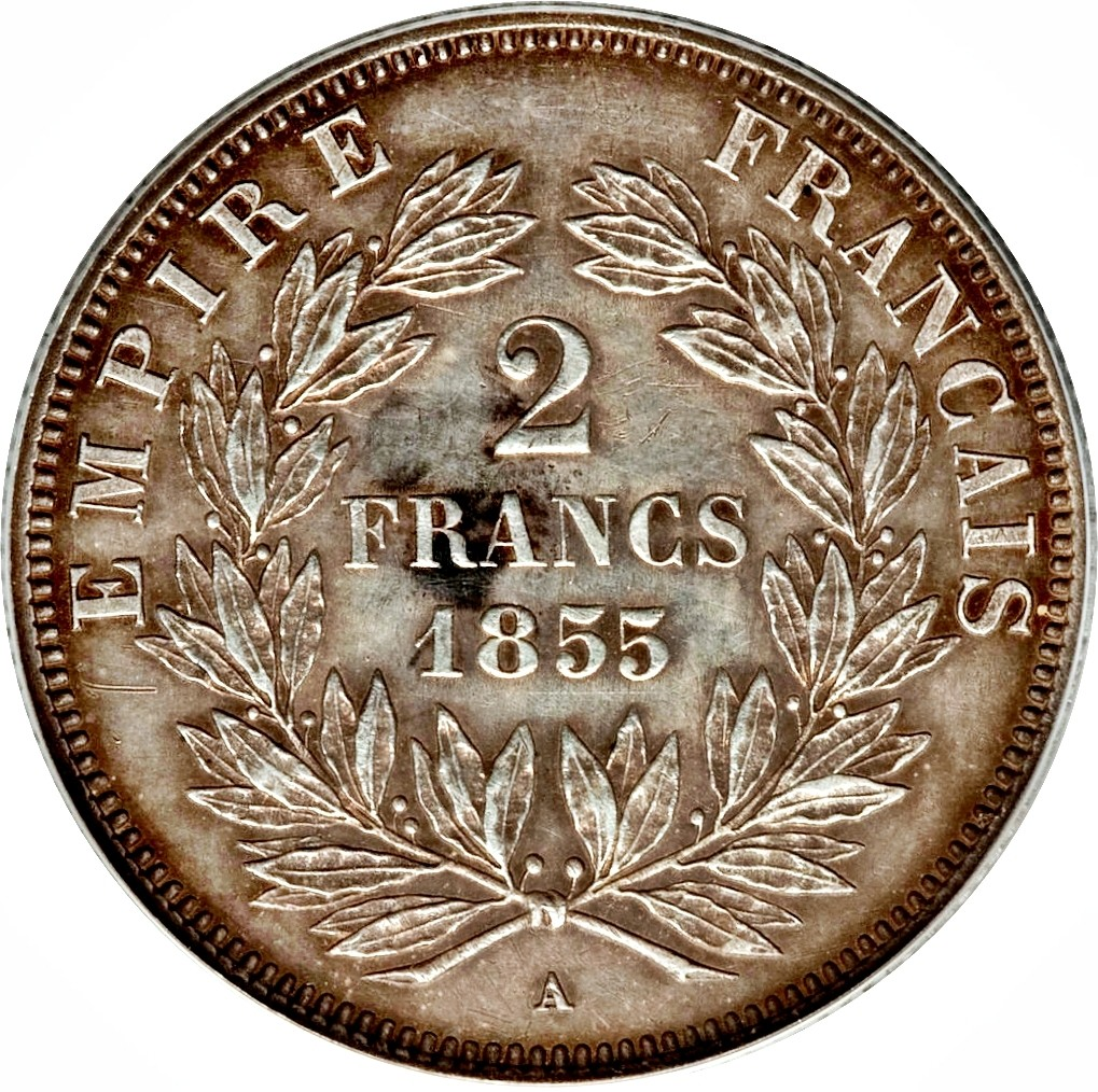 France 2 Francs (1853-1859 Napoleon III)