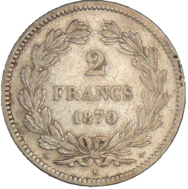 France 2 Francs (1870-1871)