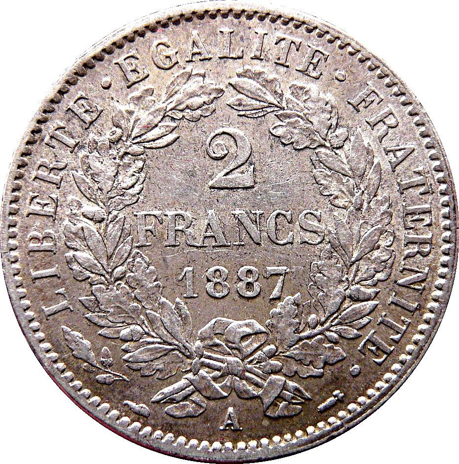 France 2 Francs (1870-1895)
