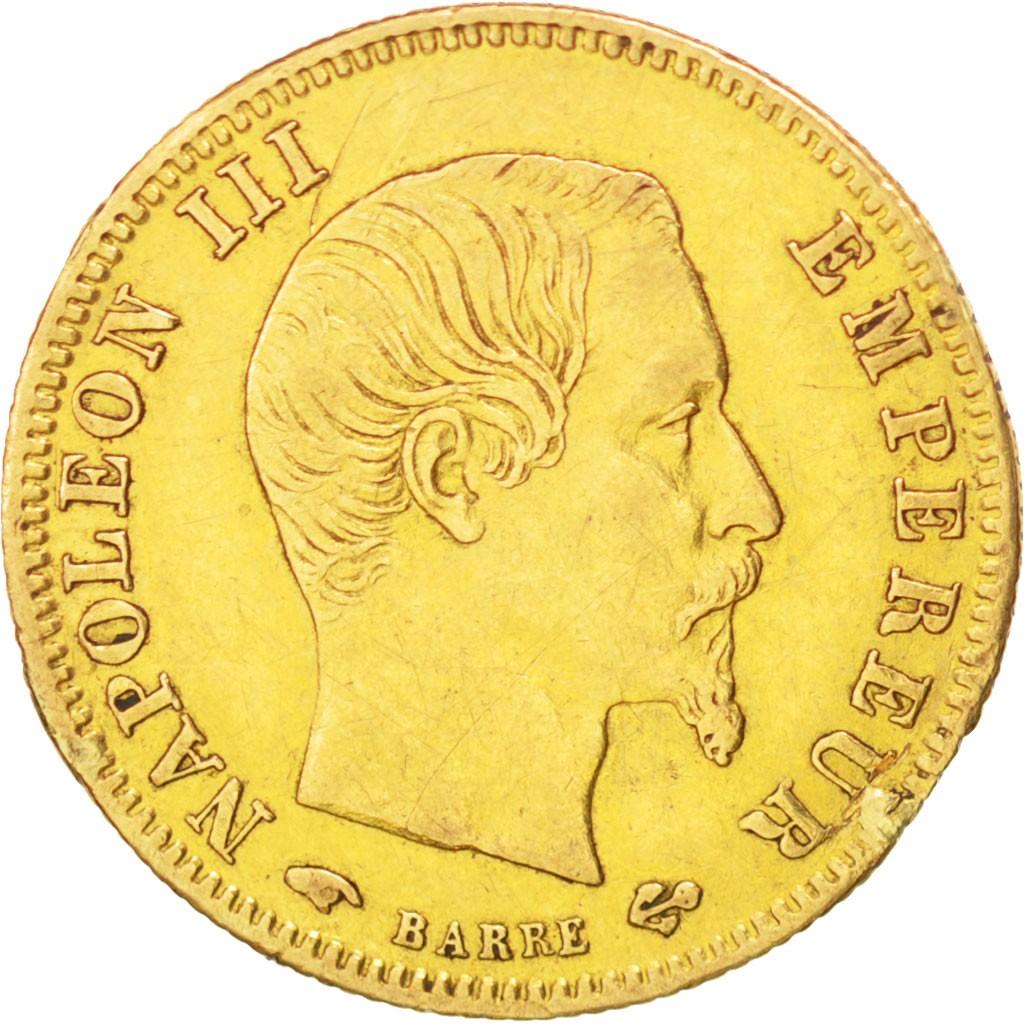 France 5 Francs (1855-1860 Napoleon III)
