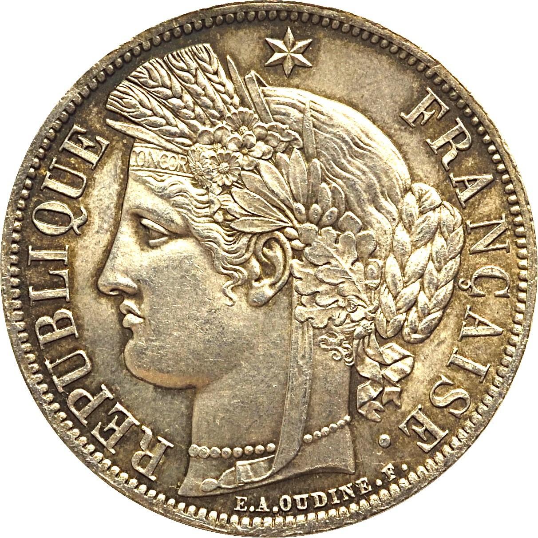 France 5 Francs (1870-1871)