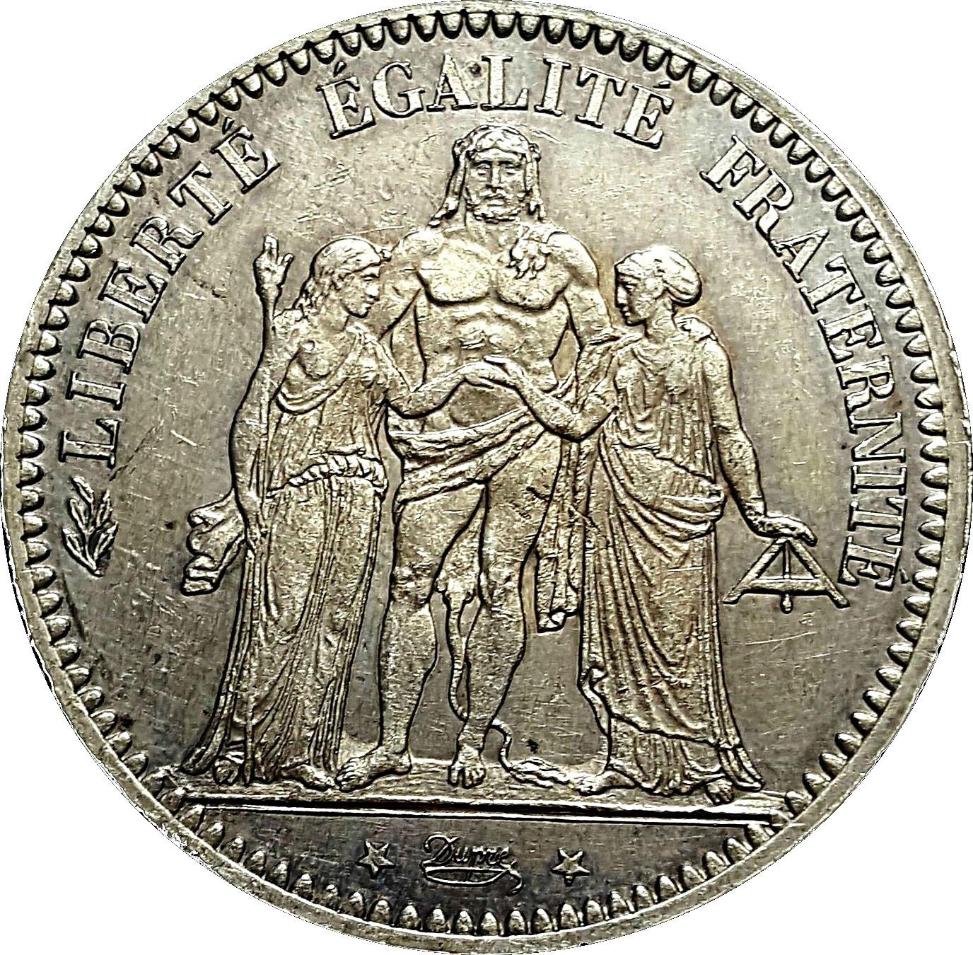 France 5 Francs (1870-1889)