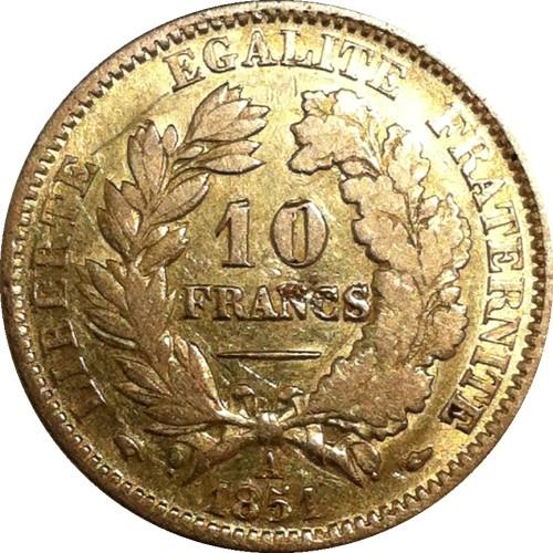 France 10 Francs (1850-1851)