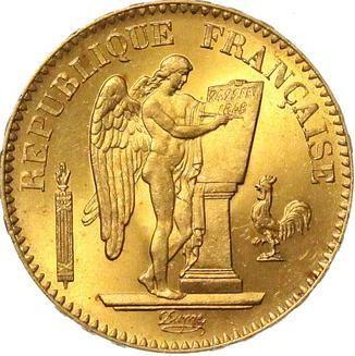 France 20 Francs (1848-1849)