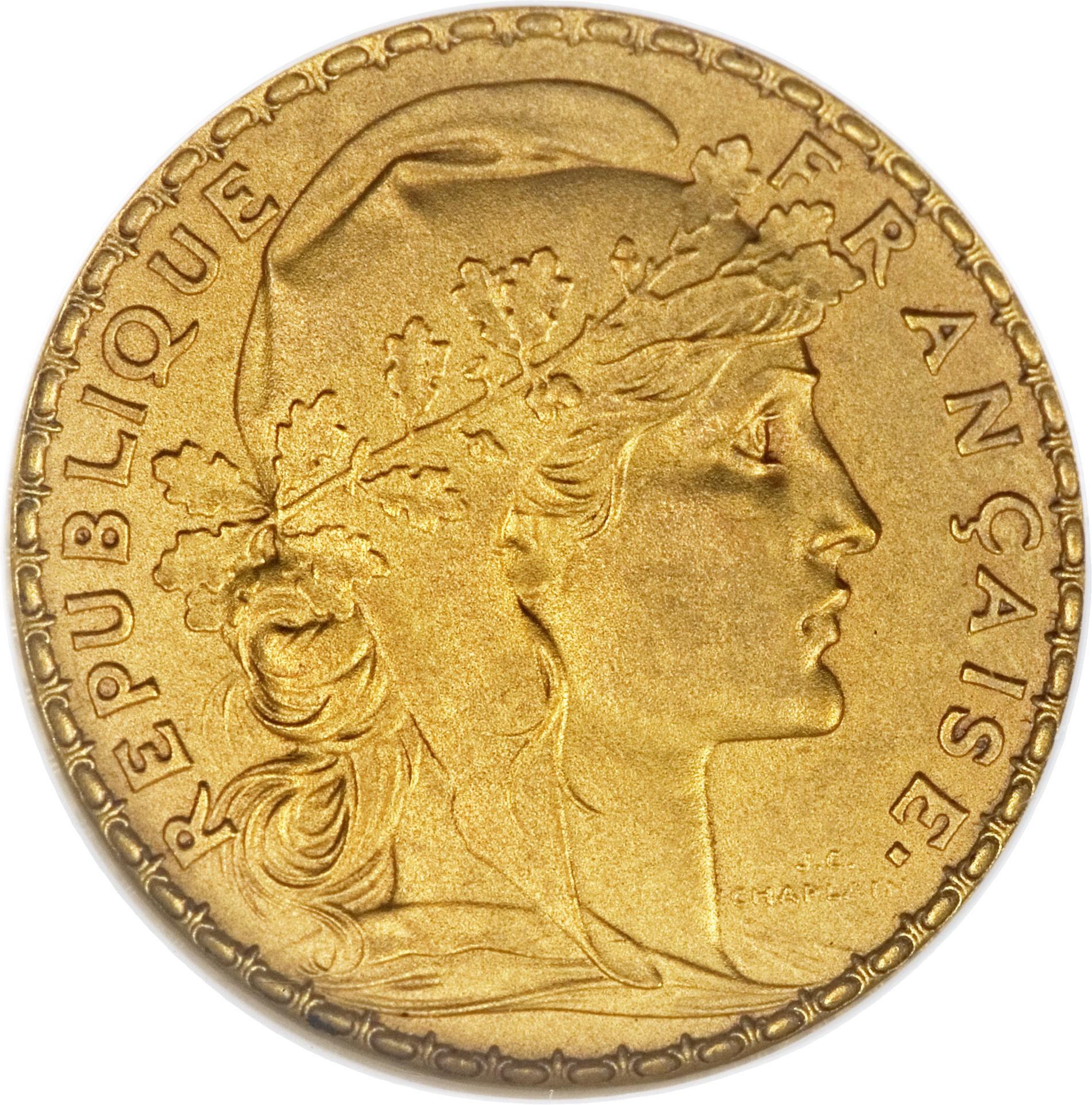 France 20 Francs (1898-1906)