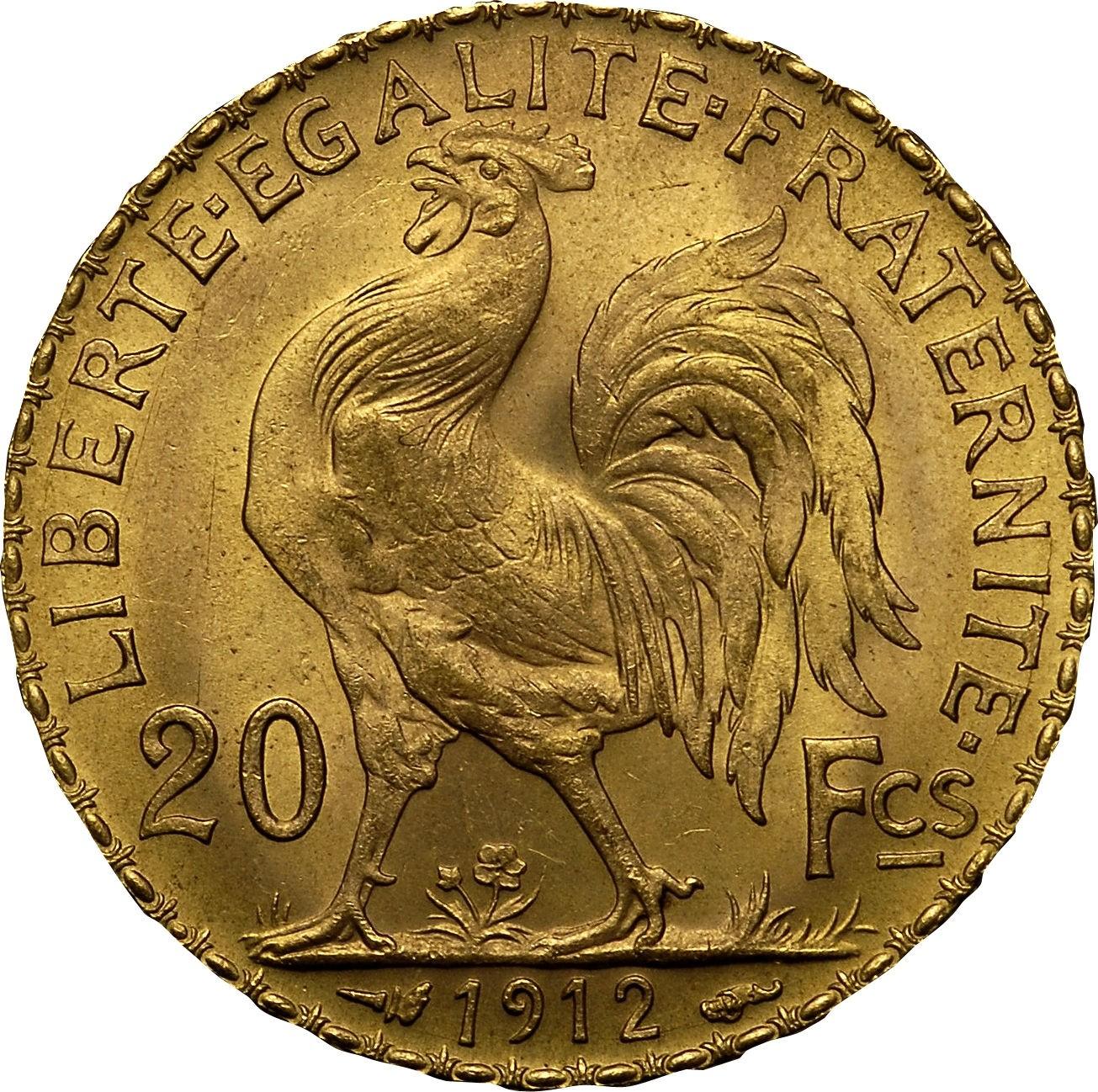 France 20 Francs (1907-1914)