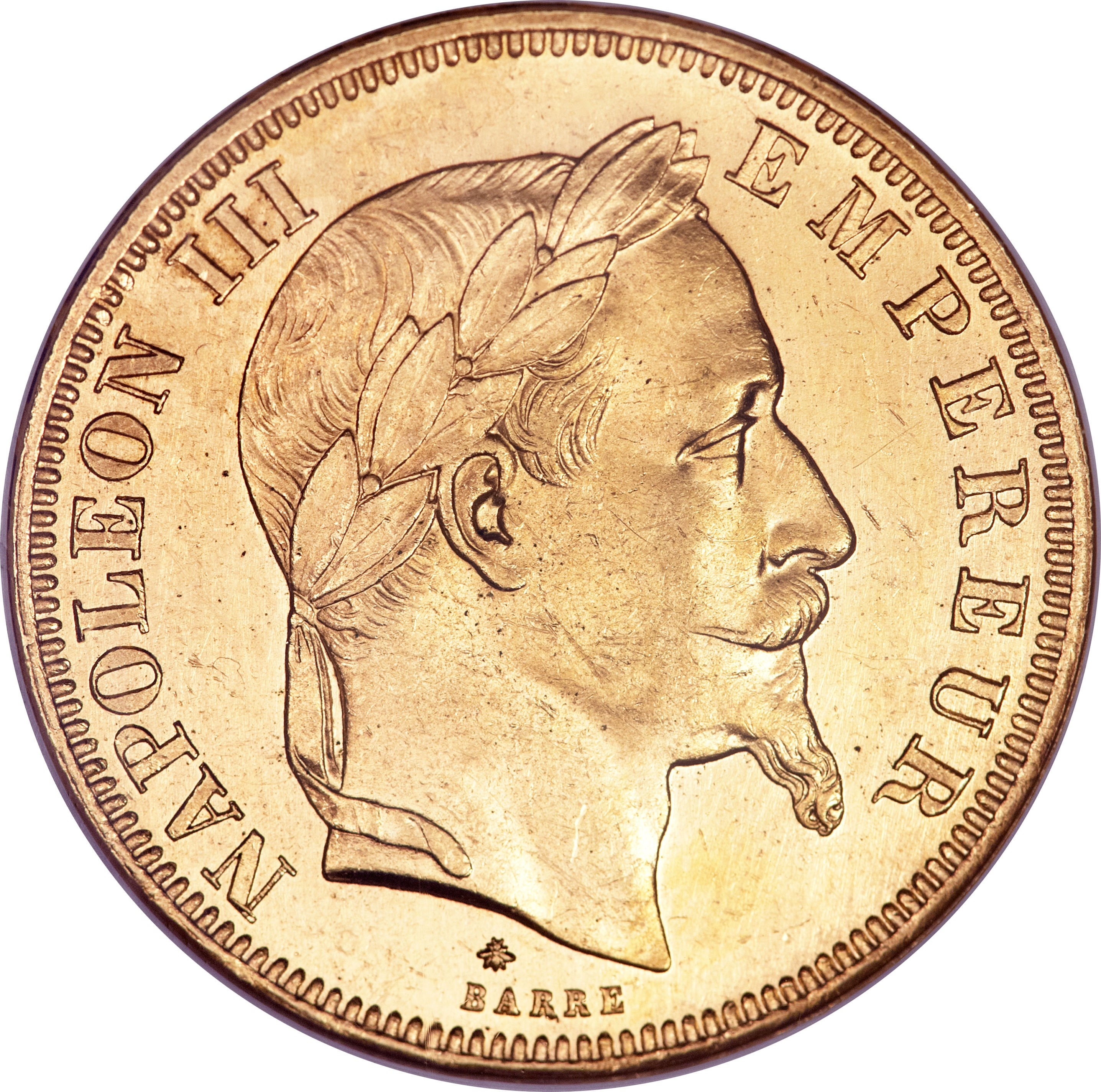 France 50 Francs (1862-1868 Napoleon III)