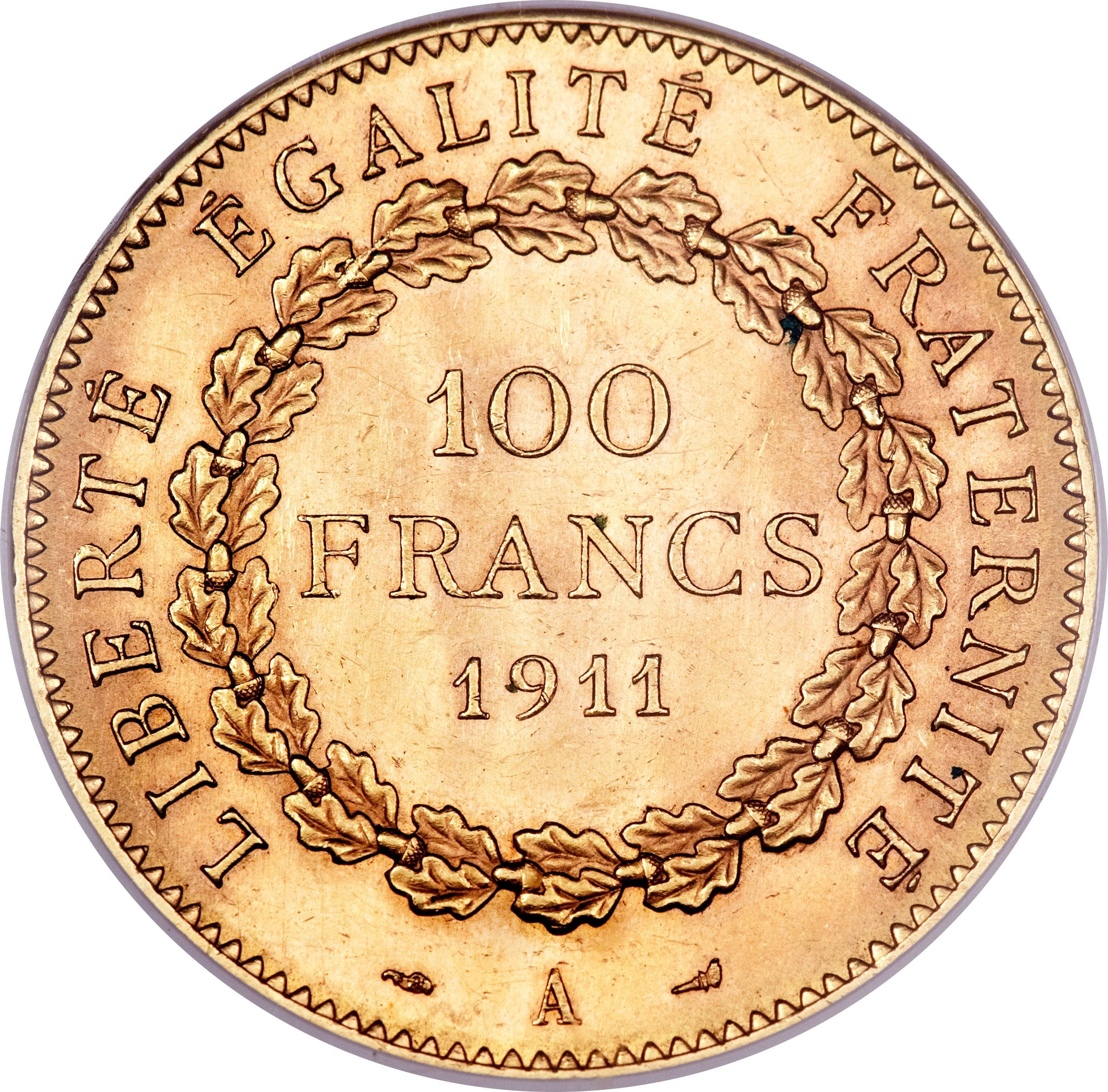 France 100 Francs (1907-1914)