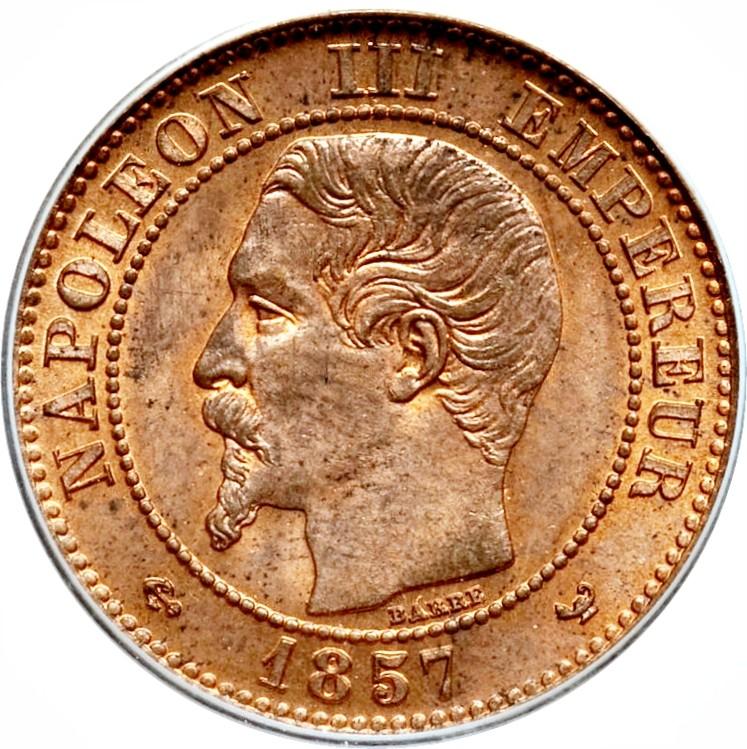 France 2 Centimes (1853-1857 Napoleon III)