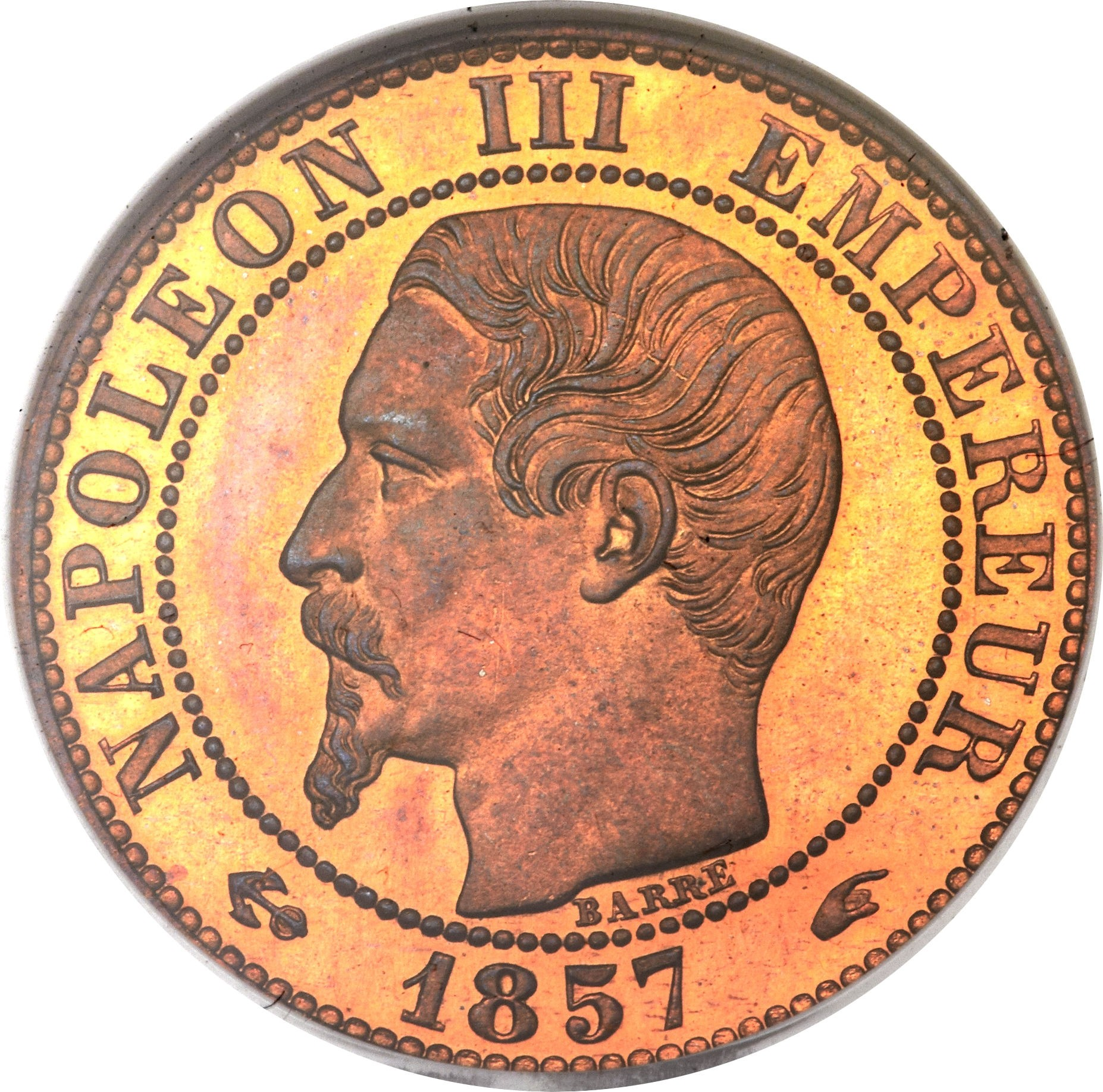 France 5 Centimes (1853-1857 Napoleon III)