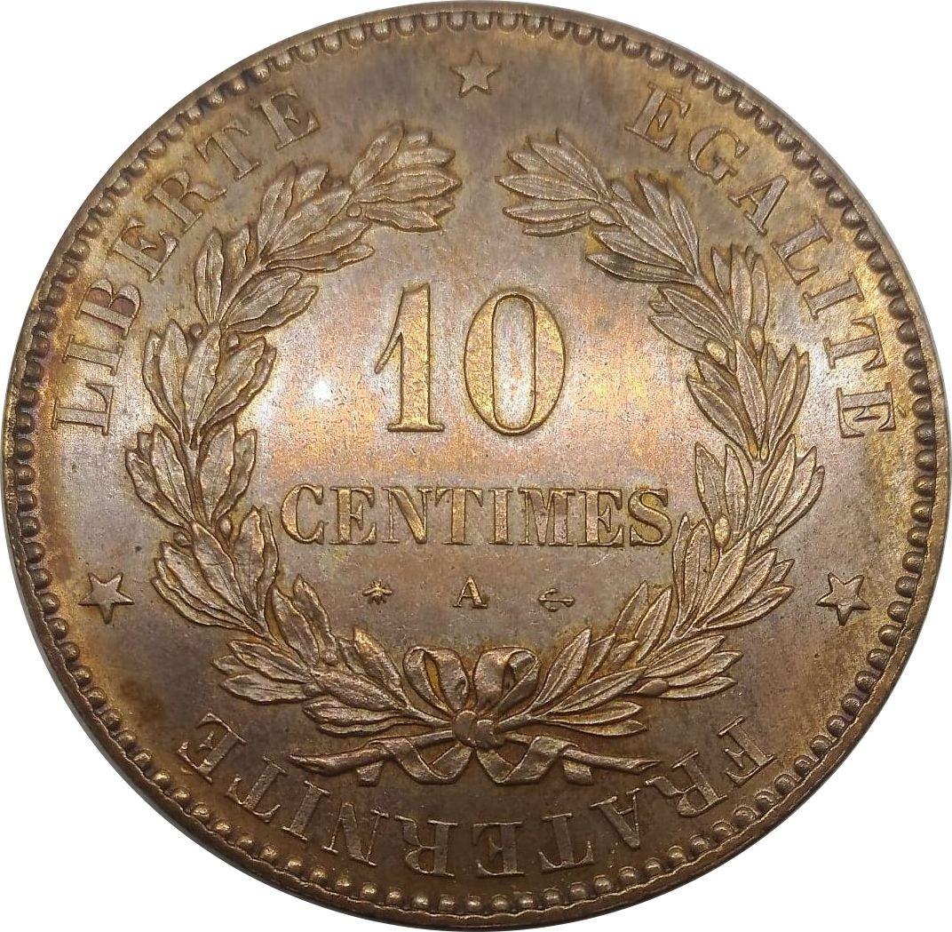 France 10 Centimes (1870-1898)