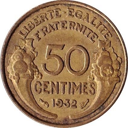 France 50 Centimes (1931-1947)