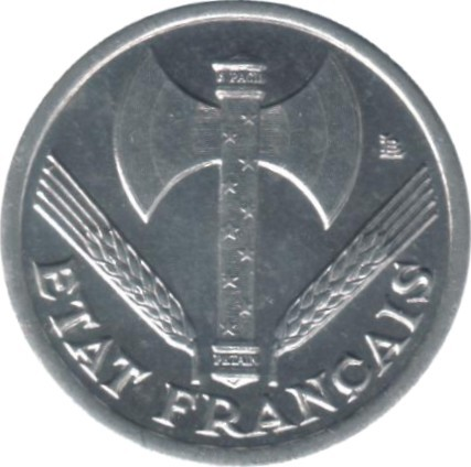 France 50 Centimes (1942-1943 Vichy French State)