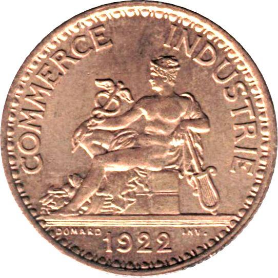 France 1 Franc (1920-1927 Chambers of Commerce)