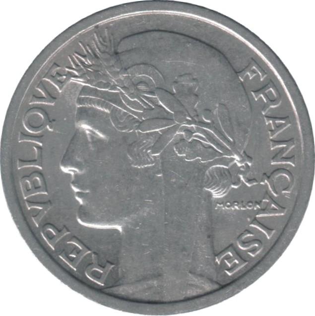 France 2 Franc (1941-1959)