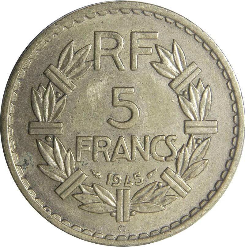 France 5 Francs (1938-1947)