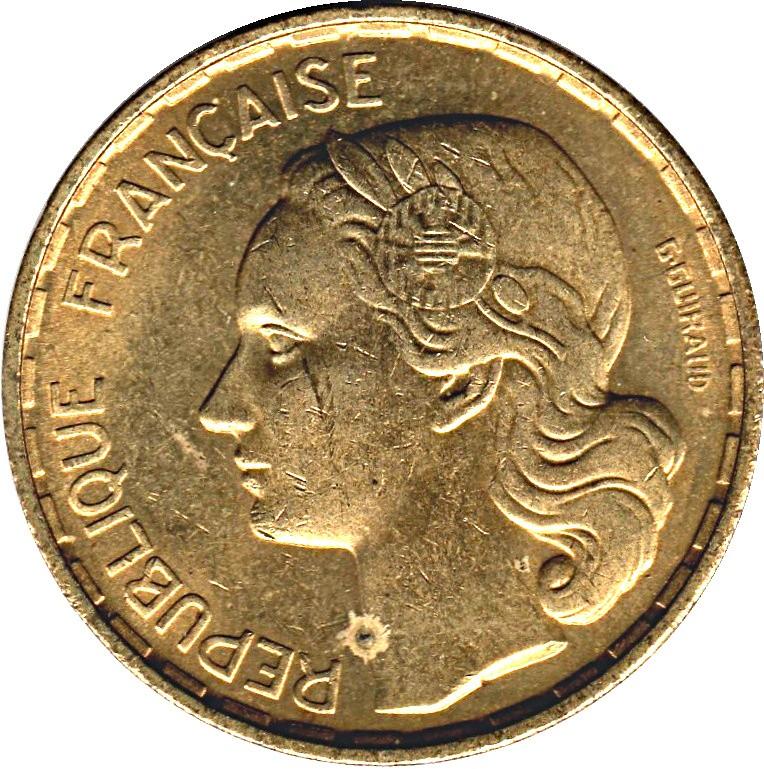 France 50 Francs (1950-1958)