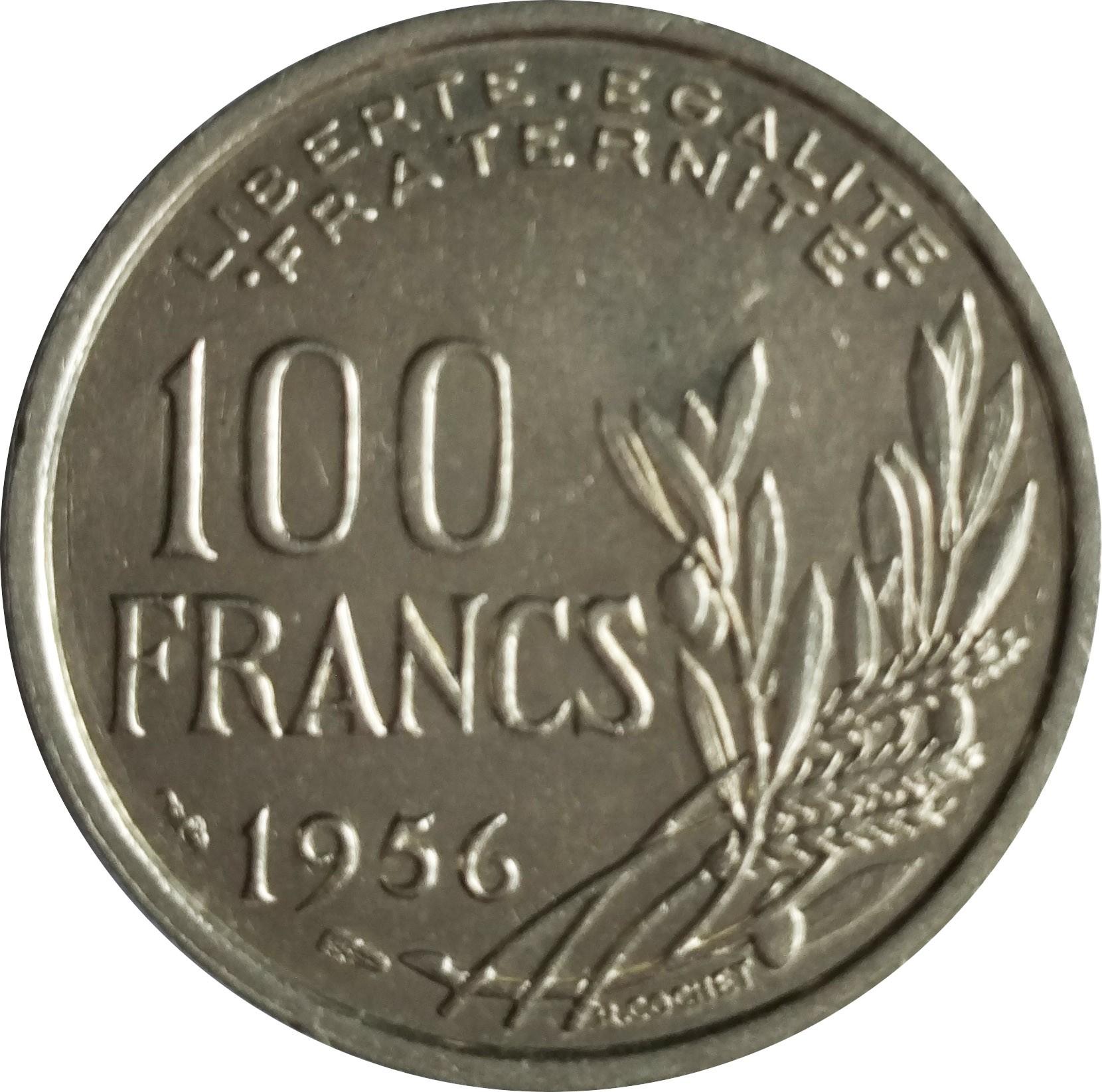 France 100 Francs (1950-1959)