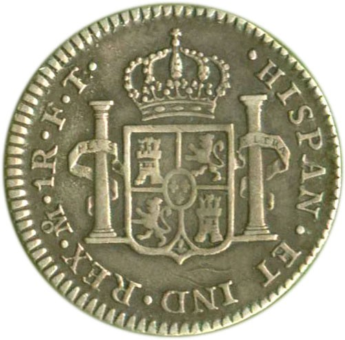 Mexico 1 Real (1792-1808 Carlos IV)