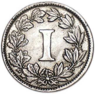 Mexico 1 Centavo (1882-1883)