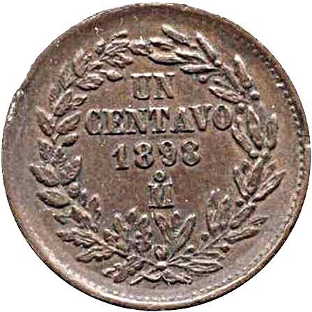 Mexico 1 Centavo (1898)