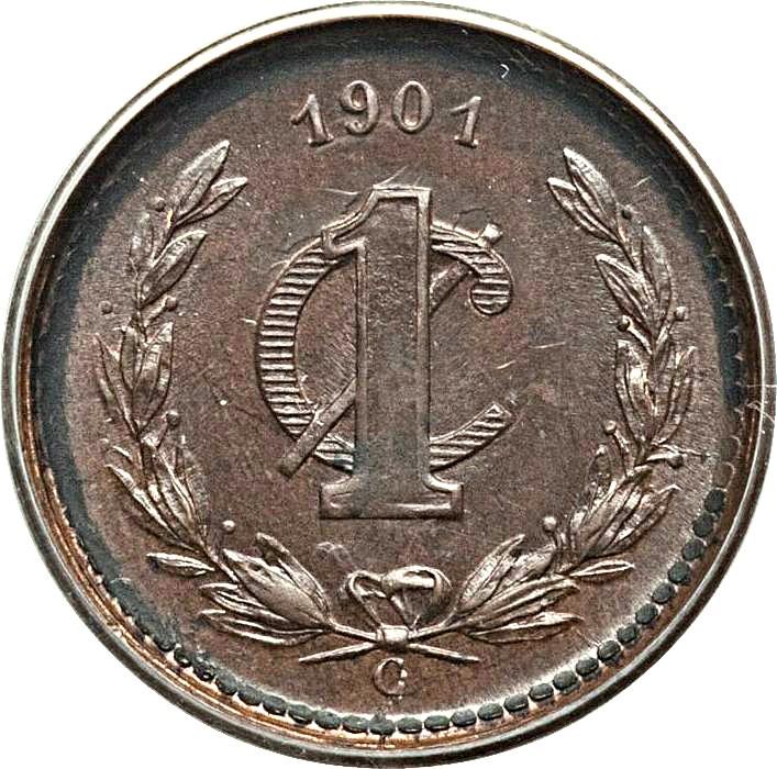Mexico 1 Centavo (1899-1905)