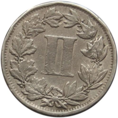 Mexico 2 Centavos (1882-1883)