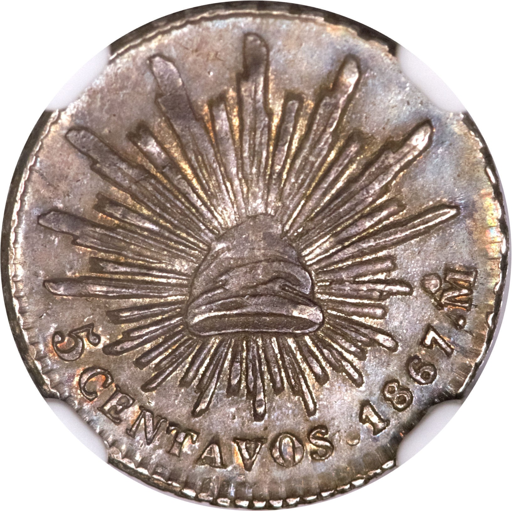 Mexico 5 Centavos (1867-1869)