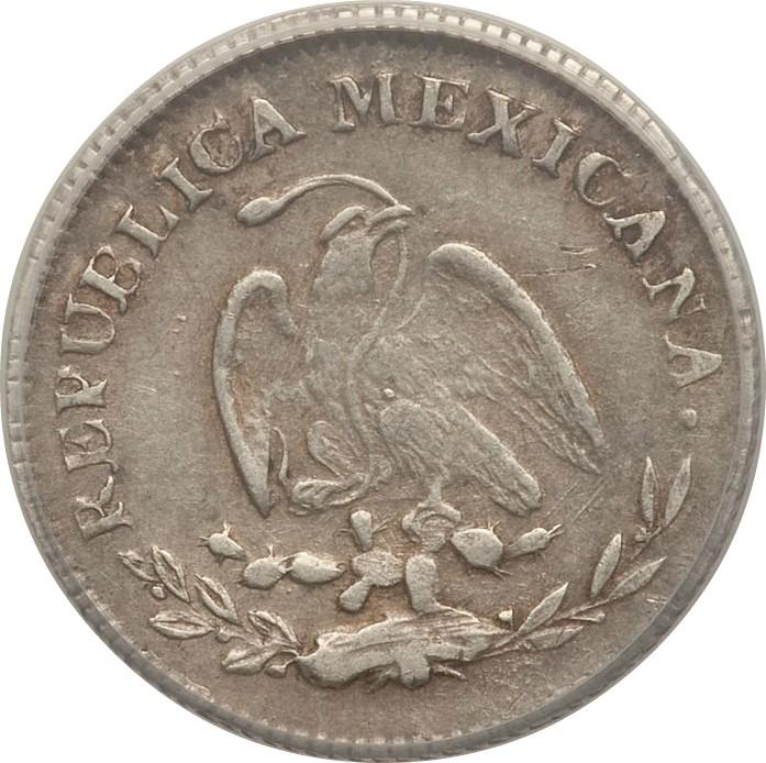 Mexico 10 Centavos (1863-1870)