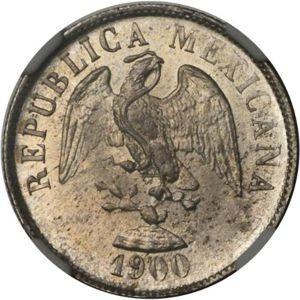 Mexico 20 Centavos (1898-1905)