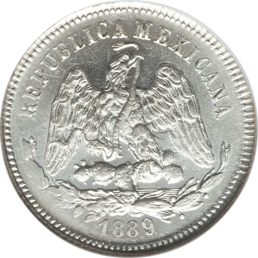 Mexico 25 Centavos (1869-1892)
