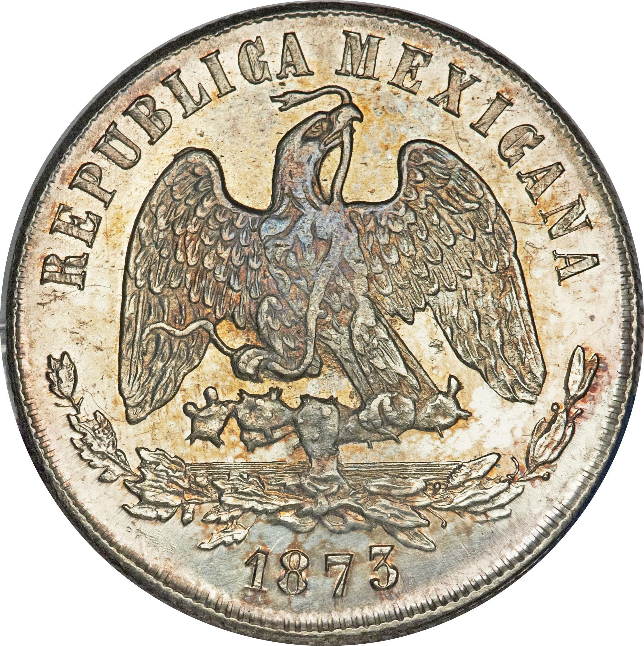 Mexico 1 Peso (1869-1873)