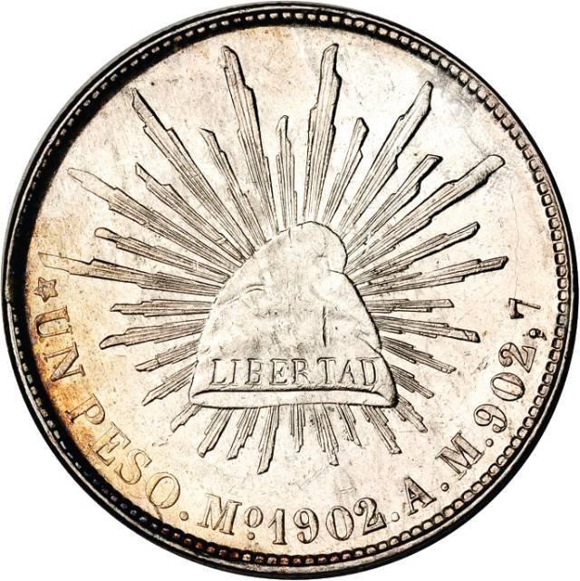 Mexico 1 Peso (1898-1909)