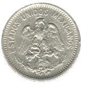 Mexico 5 Centavos (1905-1914)