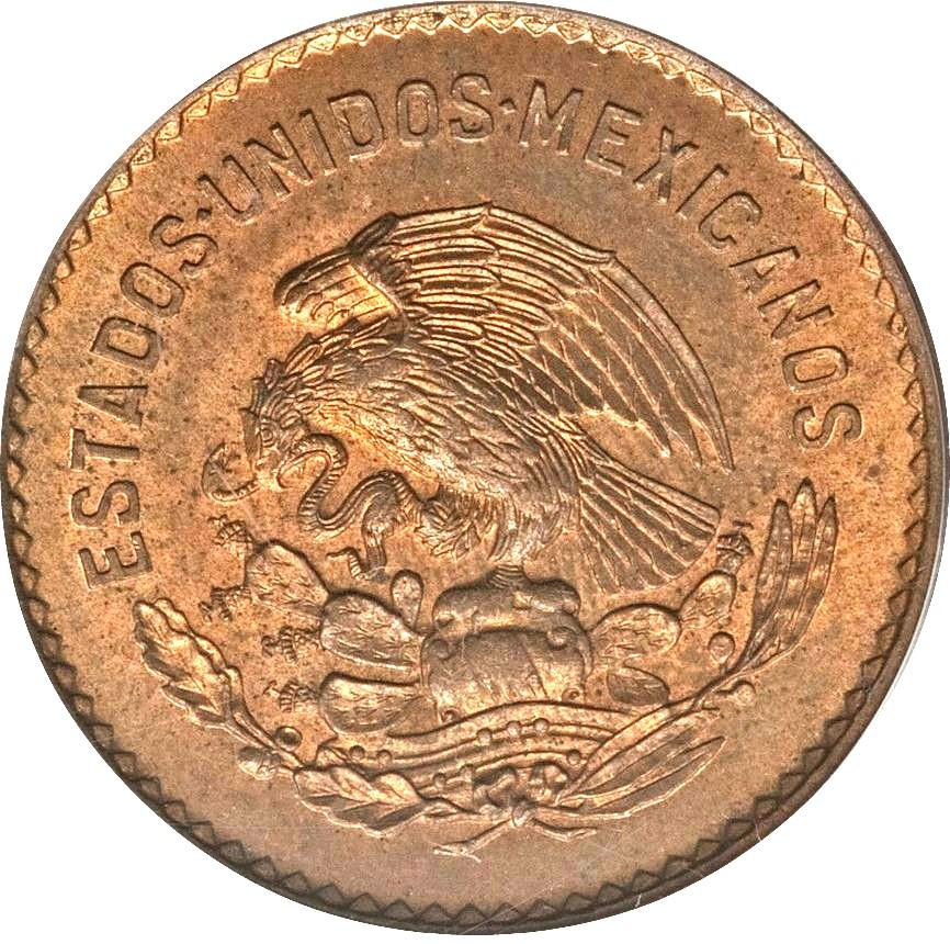 Mexico 5 Centavos (1942-1955)