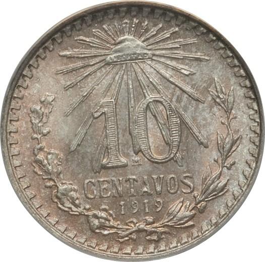 Mexico 10 Centavos (1919)